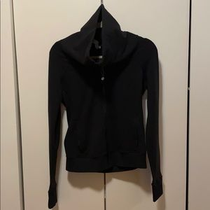 Lululemon cowl neck zip up!